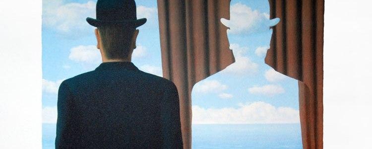 René Magritte. Decalcomania.